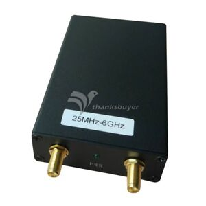 25m 6g 5k Spectrum Analyzer Signal Source Generator Tracking Generator