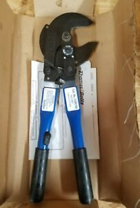 Thomas Betts Ratchet Cable Cutter Csr750 New