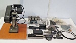 Dumore Versa Mil Milling Grinding Drilling Slotting Lathe Attachment Set Rare
