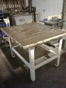 T slot Fabrication Table