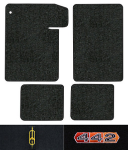 1964 1967 Oldsmobile 442 Floor Mats 4pc Loop