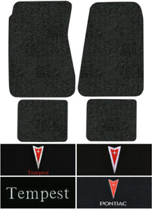 1968 1970 Pontiac Tempest Floor Mats 4pc Loop