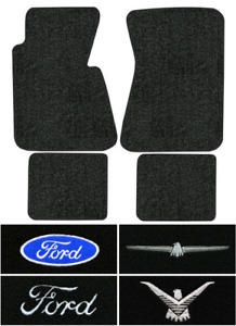 1964 1966 Ford Thunderbird Floor Mats 4pc Loop