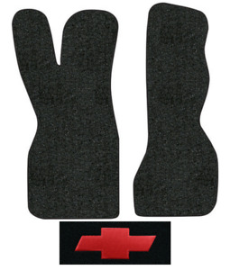 1970 1973 Chevy G10 Van Floor Mats 2pc Loop