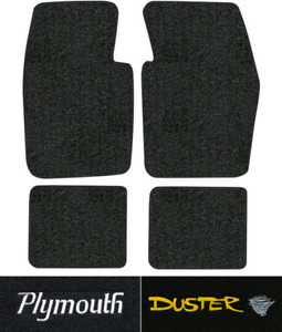 1970 1973 Plymouth Duster Floor Mats 4pc Loop