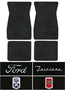 1967 1970 Ford Fairlane Floor Mats 4pc Loop