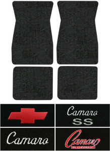 1967 1969 Chevy Camaro Floor Mats 4pc Loop