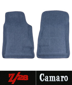 1967 1969 Chevy Camaro Floor Mats 2pc Front Loop Fits Premium Contour
