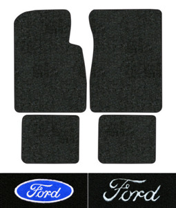 1957 1958 Ford Fairlane 500 Floor Mats 4pc Loop Fits 2dr Hardtop