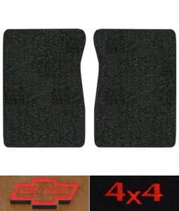 1987 Chevy R10 Floor Mats 2pc Cutpile