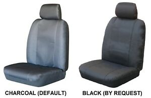 Single Water Resistant Canvas Car Seat Cover For Honda S600 Rwd Coupe