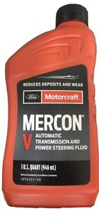 Motorcraft Mercon V Transmission Fluid Xt 5 qmc Case Of 7 Quarts