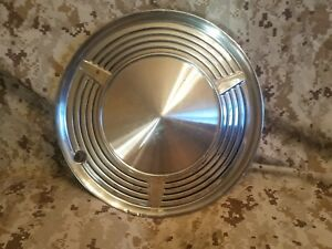 One 1960 1962 1962 1963 Mercury Comet 13 Wheel Hub Cap Oem