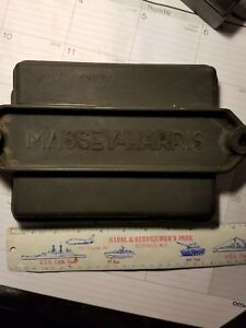 Vintage Massey Harris Battery Cover Lid 20117mi For Tractor Combine Corn Pic