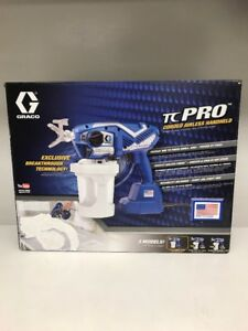 Graco Tc Pro Corded Airless Paint Sprayer 17n163 new