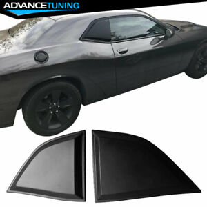Fits 08 17 Dodge Challenger Xe Pp Window Scoops Louver Vent