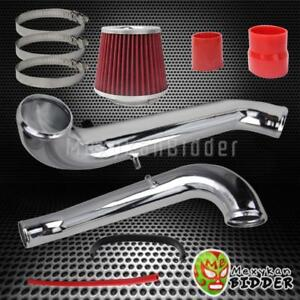 Aluminum Racing Cold Air Intake Induction System Kit Honda Civic 1996 2000 Dx Lx