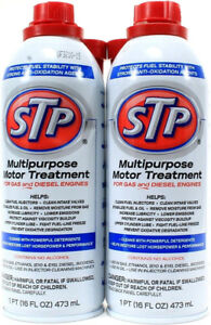 2 Stp Multipurpose Motor Treatment For Gas Diesel Engines No Alcohol 16oz Cans