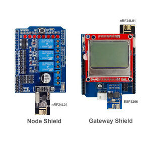 Iot Internet Of Things Shields Kit For Arduino uno R3 Mega 2560 Not Included