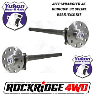 Jeep Wrangler Jk Rubicon 07 18 Dana 44 32 Spline Chromoly Rear Axle Kit Yukon