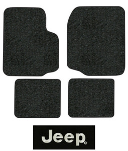 1987 1995 Jeep Wrangler Floor Mats Yj 4pc Cutpile