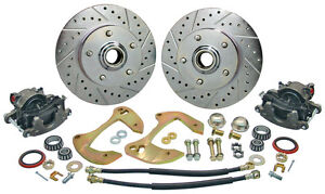 1955 1956 1957 Chevy Belair Nomad Minimum Offset Disc Brake Conversion Kit