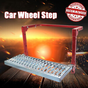 Portable Fully Adjustable Wheel Step Stair Van Truck 4wd Atv Folding Lift Ladder