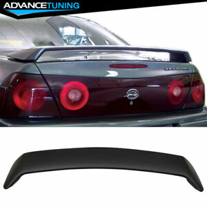 Fits 00 05 Chevrolet Chevy Impala Oe Factory Style Abs Rear Trunk Spoiler Wing
