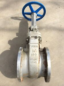 Powell 10 Stainless Steel Gate Valve Fig 2456 Class 150