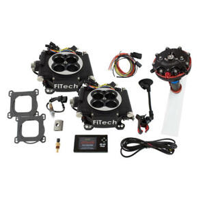 Fitech Fuel Injection System 34062 Go Efi 2x4 Hy Fuel 625 Hp Tbi Black
