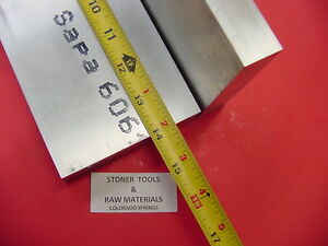 2 Pieces 1 X 3 1 2 Aluminum 6061 Flat Bar 14 Long T6 Solid Plate Mill Stock
