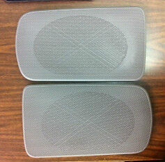 2002 2006 Camry Gray Replacement Rear Speaker Grille Covers Oem