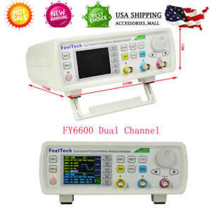 60mhz Dual channel Dds Arbitrary Waveform Function Signal Generator Counter Kit