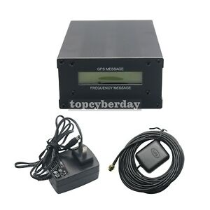 Gpsdo Gps Colck 10m Frequency Message Disciplined Oscillator Lcd Display