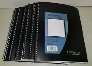 Mead Cambridge Limited Business Notebook Pack Of 6 New 06062