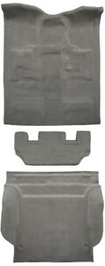 2011 2014 Chevy Tahoe Carpet Cutpile 4dr W 2nd Row Seat Mount Cover