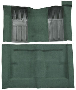 1969 1970 Ford Ranchero Gt Carpet Loop Auto With 2 Dark Green Inserts