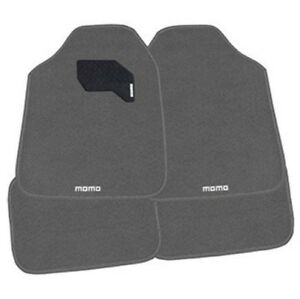 6 X Momo Italy Grey Car Floor Mats 4 Piece Carpet Mats