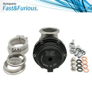 New For Tial Mvs 38mm With V Band And Flanges Mv S Black 38mm Wastegate
