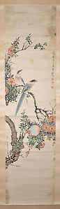 Chinese Scroll Ink On Paper Painting P14