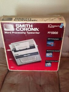 Smith Corona Word Processor Typewriter old Technology Xd 5900 Works