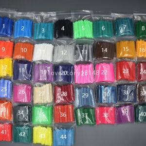 Dental Orthodontic Ligature Ties Rubber Bands 1008pcs Pack 46 Colors For Choose