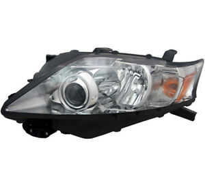 Hid Headlight Assembly Left Driver Side For 10 12 Lexus Rx350 canada Built