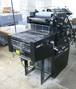 Printing Press A B Dick 9910xc2 2 color