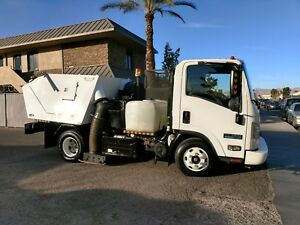 Parking Lot Sweeper isuzu 12 000 Lbs Commercial Sweeper