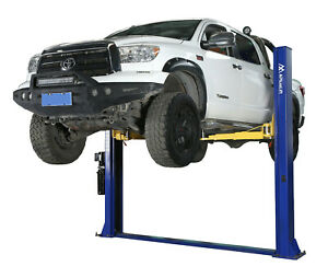 Apluslift Hw 10kbp 10000lb 2 post Heavy Duty Floor Plate Car Lift Truck Hoist