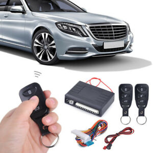 Car Keyless Entry System Remote Central Door Lock Locking Remote Controllers Kit