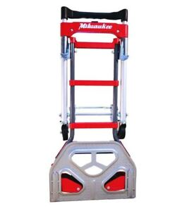 Trolley Wheel Convertible Hand Truck Moving Carts Converts Vertical Horizontal