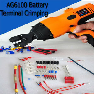 Ag6100 Battery Electric Terminal Crimping Machine Tools Wheel Bared Clamp Die
