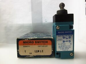 New Honeywell Lsd1a Micro Limit Switch 600 Vac 10 Amps